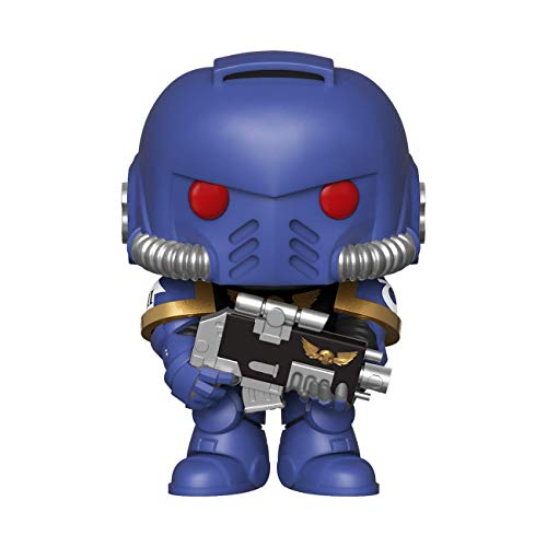 Pop! Warhammer 40K - Figura de Vinilo Ultramarines Intercessor