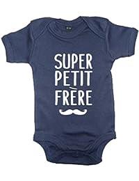 SUPER PETIT FRERE' bébé bodysuit marine