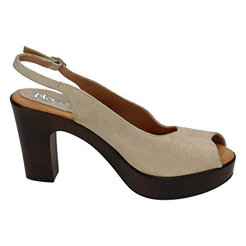 NOELIA , sandales femme Taupe
