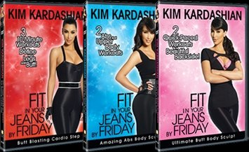 Kim Kardashian: Fit in Your Jeans By Friday: 3 DVD Set (Kim Kardashian Jeans)
