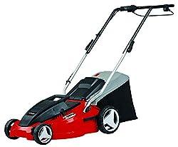 Einhell Elektro-Rasenmäher GC-EM 1536 (1.500W, 36 cm Schnittbreite, 38L Fangbox, 25-65mm Schnitthöhe, klappbarer Führungsholm, leicht und robust)