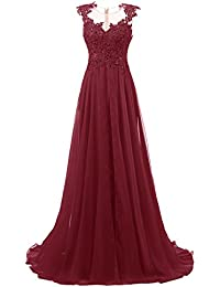 Bordeaux kleid amazon