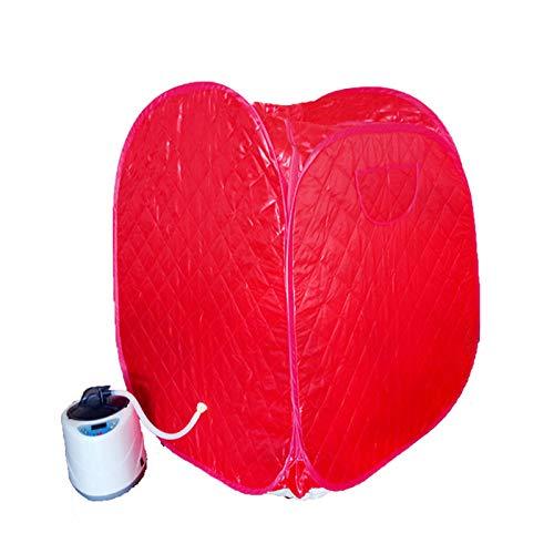 YXLONG Infrarot Sauna Tragbare Body Shaper Gewichtsverlust Zuhause Dampfsauna Personal Spa Trockene Sauna,Redremotecontrol2liters -