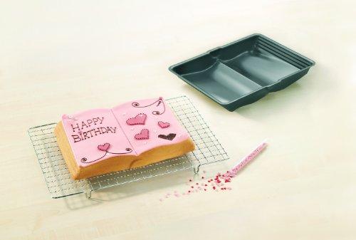 confronta il prezzo RBV Birkmann 214019 Stampo da forno a forma di libro, antiaderente, in confezione regalo con ricette miglior prezzo