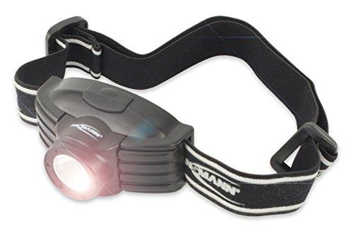 ANSMANN 1600-0044 Future LED Stirnlampe Headlight mit Kopfband Taschenlampe Streulinse Outdoor Joggen Biken -