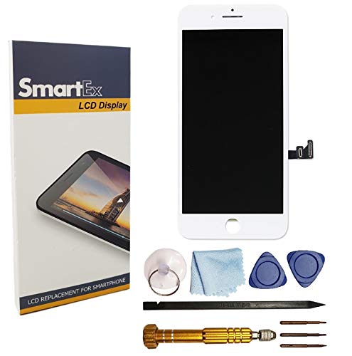 Smartex Pantalla Blanco Compatible iPhone 7 Plus/Pantalla