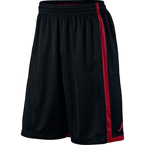 8e06cc5c300be9 Nike 724834-011 Air Jordan Crossover Mens Shorts Black Red Medium- Price in  India