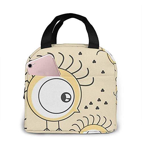 Lunch Bag - Big Tote Handtasche Lunchbox Food Container Cooler Warm Pouch Für Schularbeiten Büro