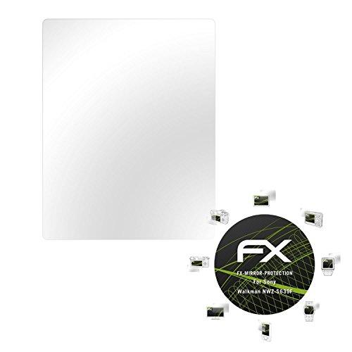 Sony Walkman NWZ-S639F Spiegelfolie - atFoliX FX-Mirror Displayschutz mit Spiegeleffekt