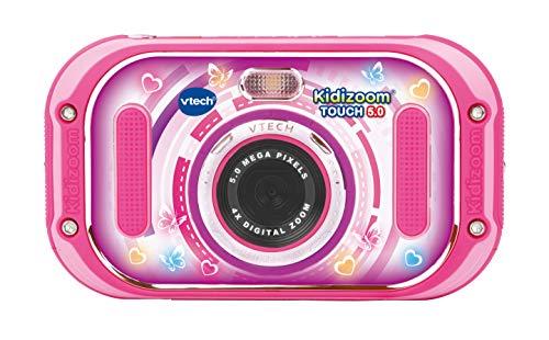Vtech 80-163554 Kidizoom Touch 5.0 pink Kinderkamera; Digitalkamera für Kinder; Kinderdigitalkamera