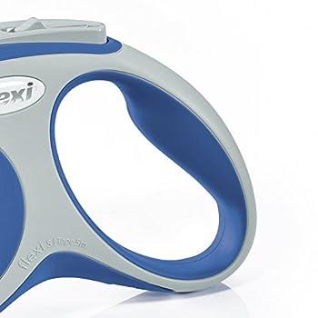 Flexi Vario Laisse avec Sangle pour Chien Bleu 5 m Taille S