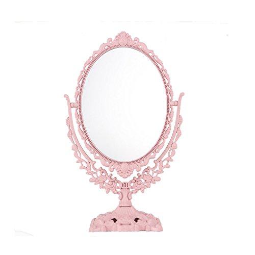 CSQ Retro Spiegel, Make-up Doppelseitige Kommode Kreative Spiegel Schlafzimmer Rechteck Spiegel Kosmetikspiegel Wohnzimmer Spiegel Makeup...