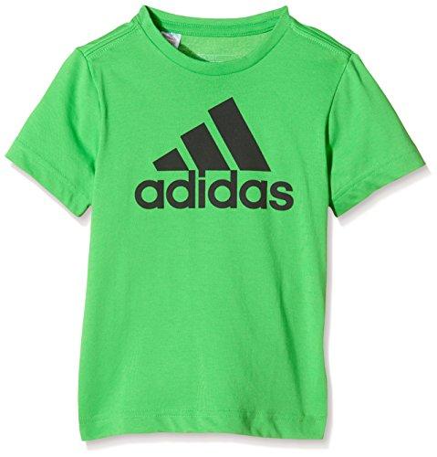 Adidas Yb Ess Logo Tee T-Shirt für Kinder, grün, 152 (Logo Ess Tee)