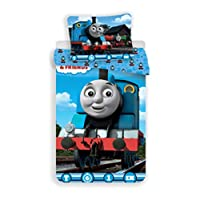 Jerry Fabrics Thomas & Friends Single Cotton Duvet Cover and Pillowcase Set