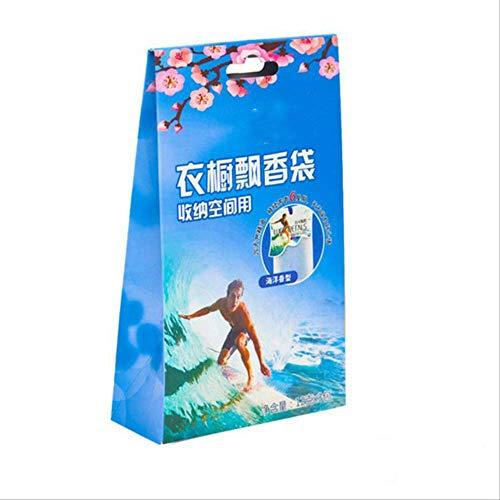 txxzn Borsa Profumata Almirah Sachet Profumo Borsa Solid Air Freshener 12 Tipi di Fragranza Possono Scegliere Oceano