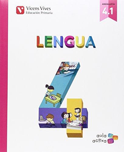Lengua 4 (41 - 42 - 43) aula activa andalucia: 000001