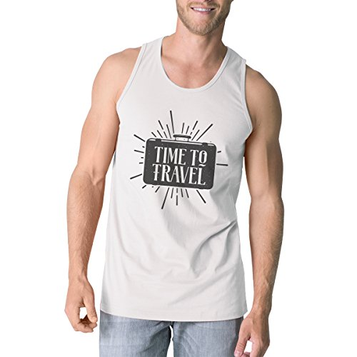 365 Printing Herren Pullunder One size Time To Travel