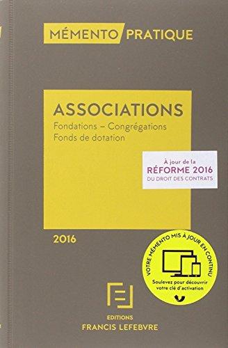 MEMENTO ASSOCIATIONS 2016