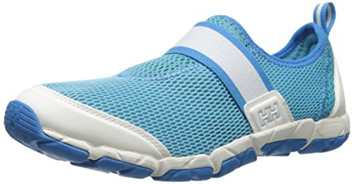 Helly Hansen The Watermoc 5 Sailing Chaussures pour femme Off White/Azure Blue