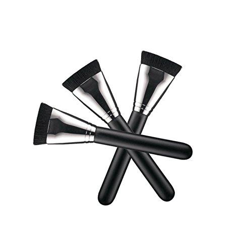tampon-plat-liquide-bois-fondation-poudre-contour-melange-maquillage-brosse
