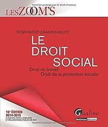 Le droit social 2014-2015