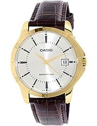 Casio Reloj con movimiento cuarzo japonés MTP-V004GL-9A 40 mm