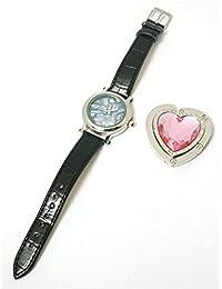 Paris Hilton HWX0004A - Reloj para mujeres, correa de cuero color negro