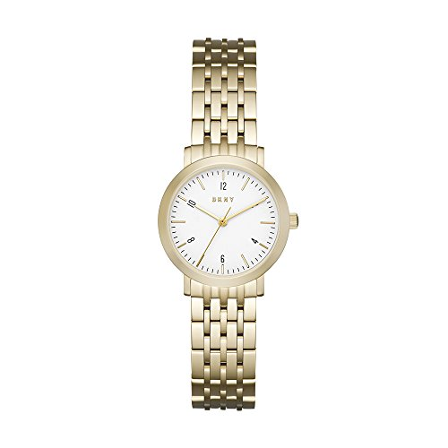 DKNY Womens Analogue Quartz Watch with Stainless-Steel Strap NY2510