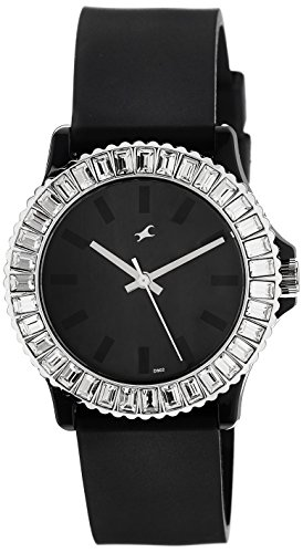 Fastrack Beach Analog Black Dial Women's Watch - 9827PP02 image