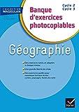 Magellan Géographie CE/CM Banque d'exercices éd. 2015 - Fichier photocopiable
