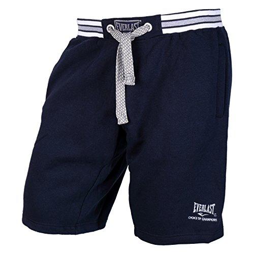 Everlast Herren Sport Short Kurze Hose, Marineblau, S (Baumwoll-shorts Everlast)