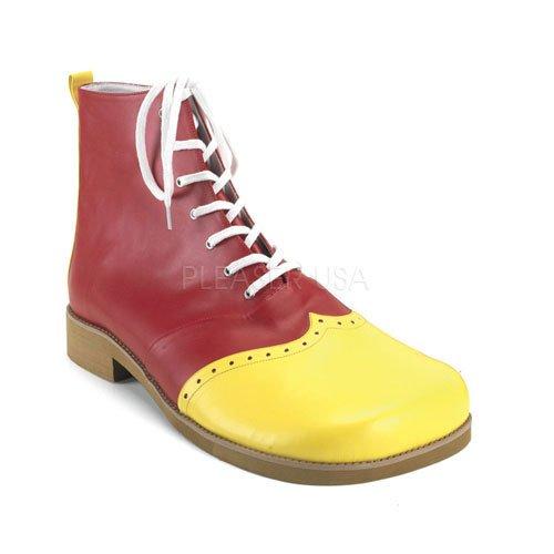 Funtasma Clown-Schuhe Clown-01 (Clown Gelb Schuhe)