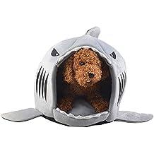 Fantastisch EisEyen Sharks Hai Motive Hundehütte Hundebett Hundekörbchen Katzenbett Mit  Kissen Hundehaus Haustier Schlafsack Für Drinnen