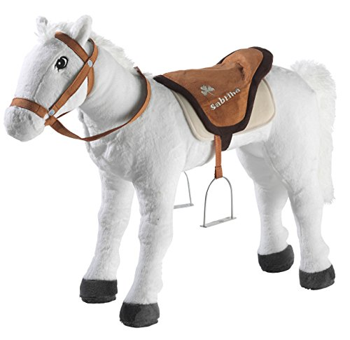 Bibi & Tina 736177 - Pferd stehend, Sabrina, groß, creme