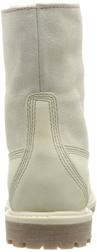 Timberland Auth Tedy Flce Wp, Schneestiefel femme Blanc (Winter White)