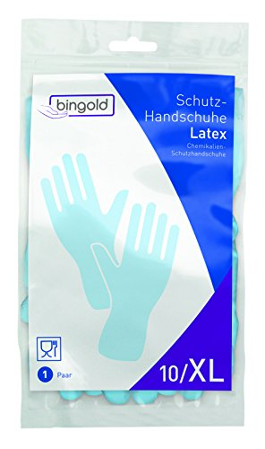 BINGOLD Latex Schutzhandschuhe blau 144 Paar