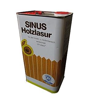 Burtex Sinus Holzlasur 5 Liter Farbe Ebenholz