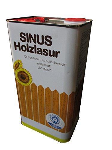 Burtex Sinus Holzlasur 5 Liter Farbe Kastanie