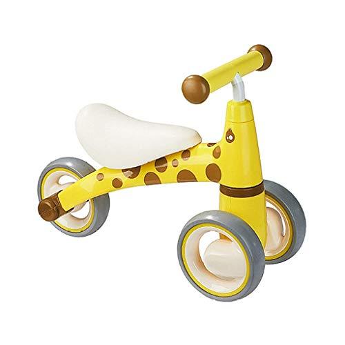 AI CHEN Kids Prams Dreirad für Kinder, Trike Easy Clip und tragbar Geeignet für 1 Jahr alt - 5 Jahre alt Baby Riding   Blue   Yellow   Pink (Welt Radfahren Um Die Rund)