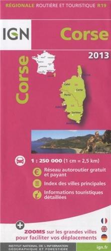 R19 CORSE 2013  1/250.000