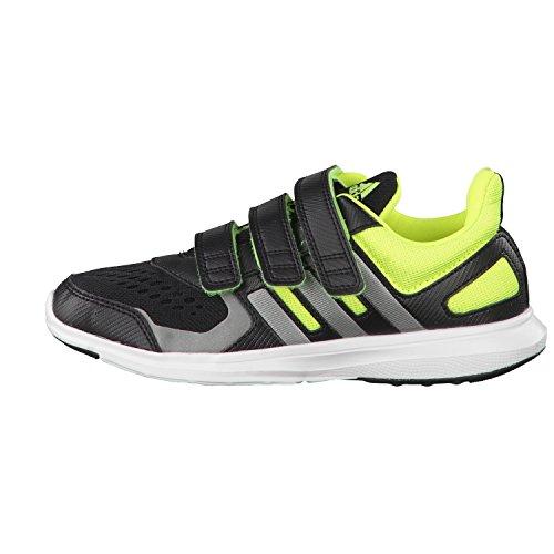 adidas, Scarpe da atletica leggera bambini Nero / Grigio / Lima