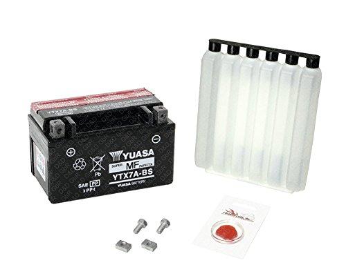 YUASA Batterie für Suzuki UC 125 U Epicuro, 1999-2000 (AX), wartungsfrei, inkl. Pfand €7,50