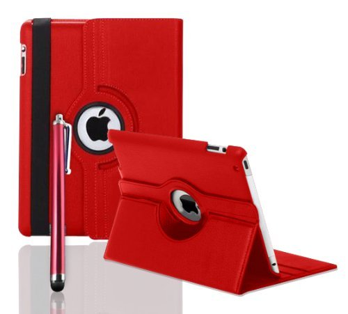 Zonewire Case - Funda para Apple iPad 2/3/4, color rojo