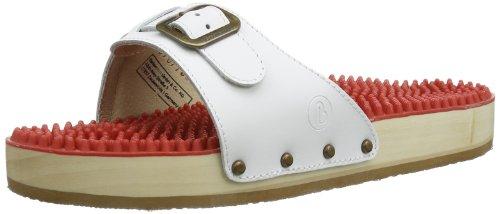 Berkemann Noppen-Sandale 00107-100 Unisex-Erwachsene Clogs & Pantoletten, Weiß (weiß 100),Gr.38 2 (5.5 UK)