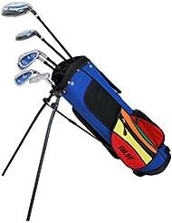 sulov Kit de golf pour enfants Bleu, 106cm