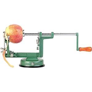 Rosenstein & Söhne Apfelschälmaschine: Profi-Apfelschäler und -Schneider (Apfelmaschine)