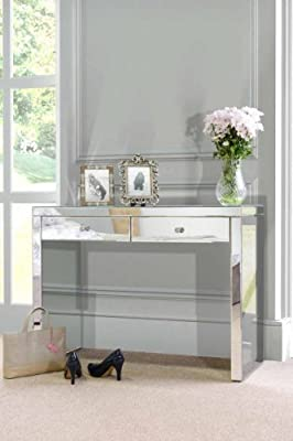 My-Furniture Venetian Mirrored Dressing Table - APHRODITE - low-cost UK dressing table shop.