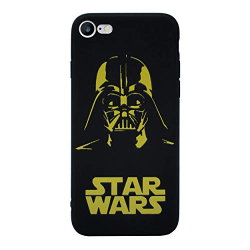 iPhone 5/5s Star Wars Étui en Silicone / Coque de Gel pour Apple iPhone 5s 5 SE / Protecteur D'écran et Chiffon / iCHOOSE / Darth Vader