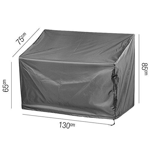aerocover Premium Schutzhülle für Gartenbank 130x 75x 85cm