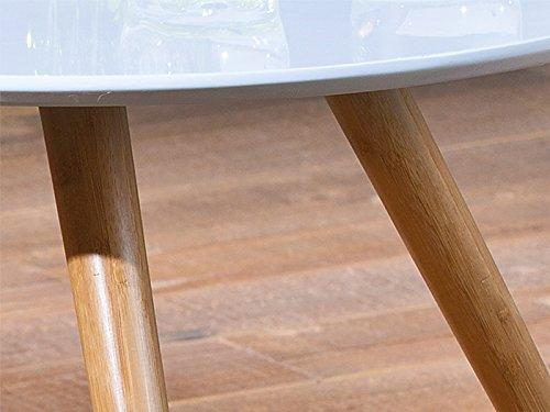 Tavolini In Legno Bianco : Links danke a set tavolini dim h cm col